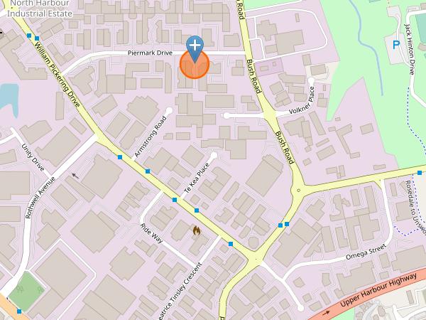 Map of 6B Piermark Drive
